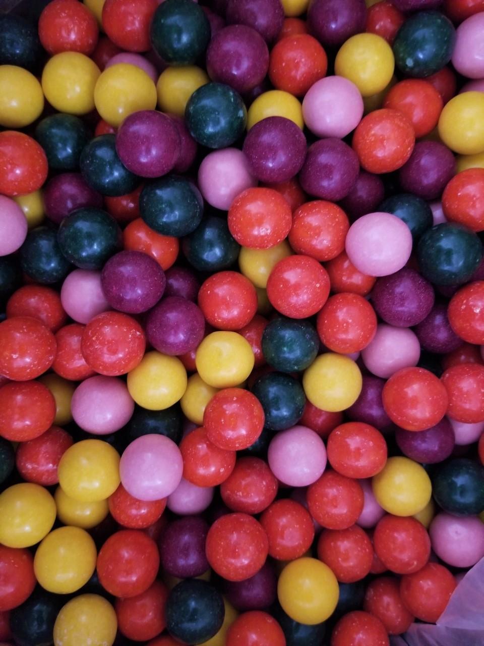 vegan gum, gumball candy